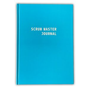 Scrum Master Journal, blau, DIN A5