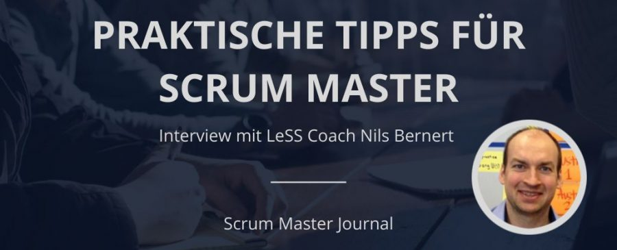 Interview mit LeSS Coach Nils Bernert